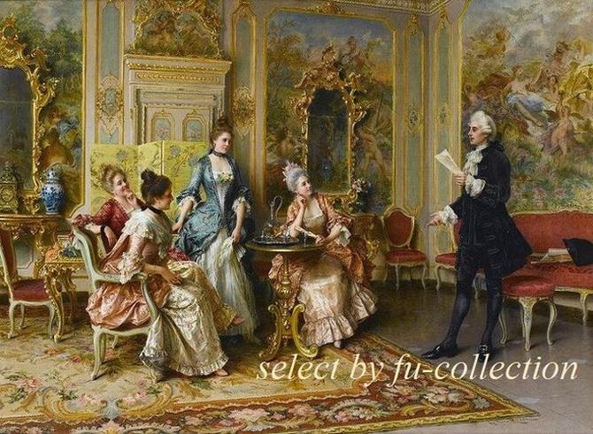 ヨーロッパ 大型絵画