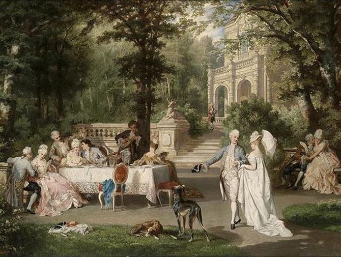 ヨーロッパ絵画 貴族・貴婦人
